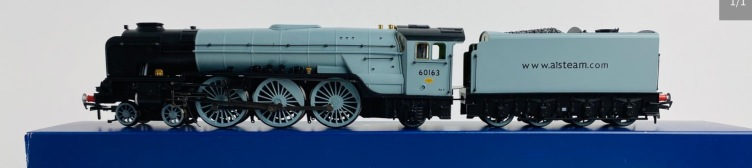 Bachmann 32-550K A1 Class 60163 'Tornado' Steam Trust Grey Bachmann Club Exclusive Includes Detail Pack & Papers